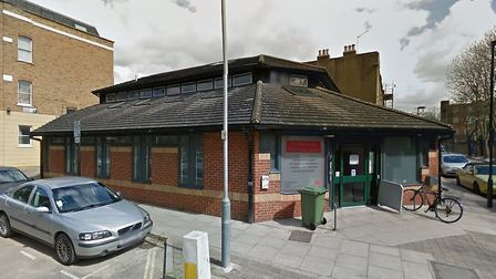 An 18-year-old woman was robbed at knifepoint outside Durham Road Resource Centre in Finsbury Park.
