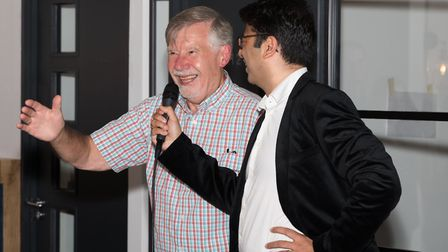 Brian Andrews has been going to Old Street Dental Clinic for over 50 years, and was guest of honour