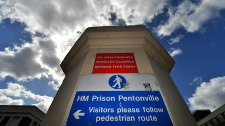 A general view of Pentonville Prison. Picture: Anthony Devlin/PA