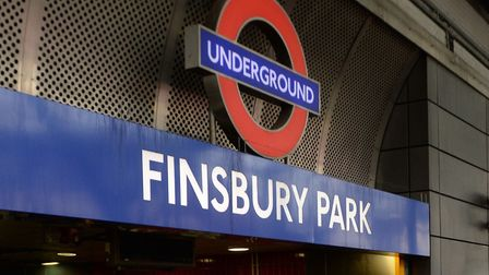 Both victims were attacked near Finsbury Park station. Picture: PA/Stefan Rousseau