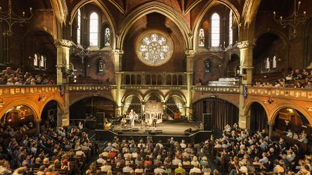 Union Chapel is one of 33 buildings involved in Open House weekend. Picture: Daniela Sbrisny