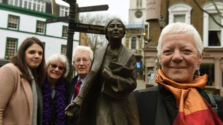 TUC and City of London Corporation launched a campaign to erect a statue of suffragette Sylvia Pankh