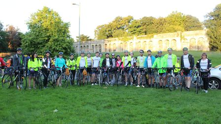 Twenty Network Homes staff cycled from London to Paris raising £66,000 for St Mungo's
