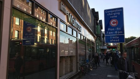 Little Waitrose in Holloway Road was awarded a food hygiene rating of 2, meaning it 'requires improv