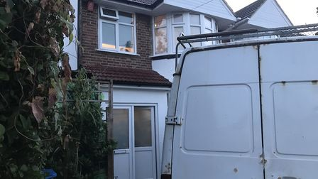 House where 35 men were found to be living after a raid by Brent Council (Pic: Brent Council)