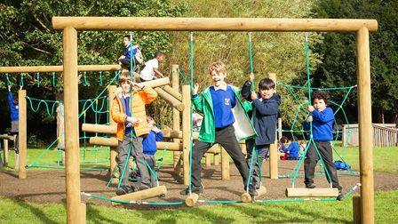 Pupils at Malorees Infant & Junior School have new playground equipment thanks to a lottery boost (P