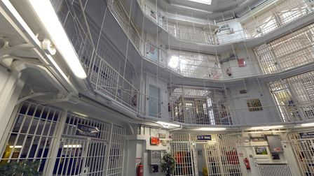 File photo dated 29/04/13 of the centre of Pentonville Prison, London, where two prisoners have esca