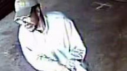 Police have released a CCTV image of a man they want to speak to in connection with a firearms offen