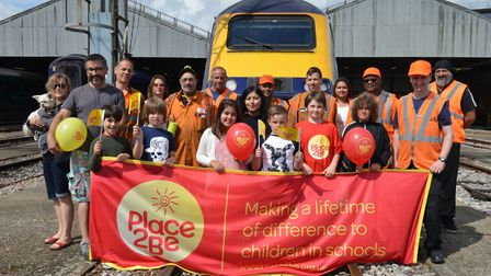 The Old Oak Common Depot is host to an open day with all proceeds going to Place2Be