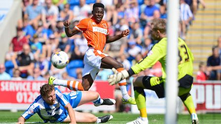 Queens Park Rangers have signed Bright Osayi-Samuel (in orange) from Blackpool on a three-year deal