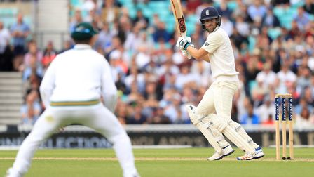 England's Dawid Malan in batting action against South Africa (pic Adam Davy/PA)