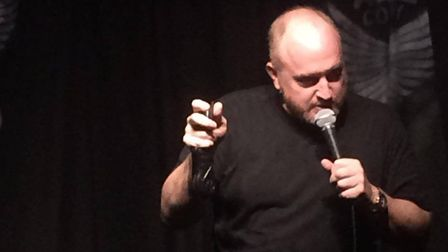 Louis CK performed at the Camden Head on the Bank Holiday weekend. Picture: Angel Comedy Club