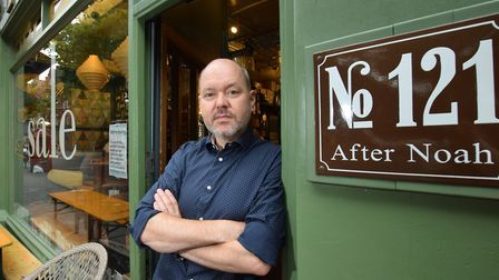 General manager and part owner of After Noah in Islington, Simon Tarr. Picture: Polly Hancock