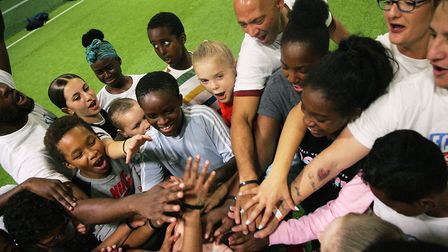 Youngsters had lots of fun at the FC Gio camp (pic Fiston Manuella Photography)