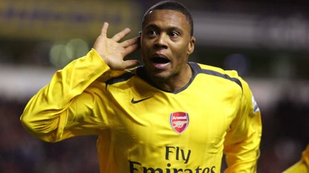 Arsenal's Julio Baptista scored four times against Liverpool at Anfield in the league cup in 2007 (p