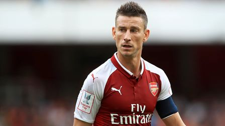 Laurent Koscielny is available once again for Arsenal after suspension (pic John Walton/PA)