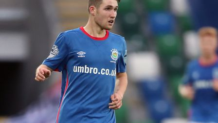 Queens Park Rangers have signed Linfield forward Paul Smyth (pic: Niall Carson/PA)