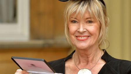 News presenter Julia Somerville could be cooking you a meal. Picture: John Stillwell/PA Archive
