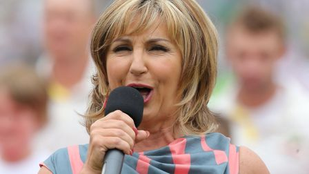 Singer Lesley Garrett could be cooking you a meal. Picture: Nick Potts/PA