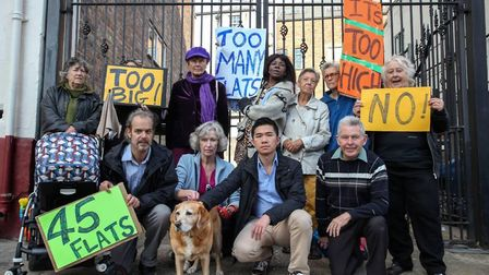 Councillors and community members say no to development in Harlesden (Picture: michelemartinoli.com)