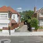 The body of a woman has been found close to Menelik Road Picture: Google Street View
