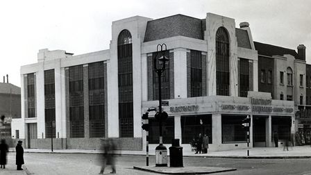 The electricity showroom in Holloway Road, where people could buy household electricals such as cook