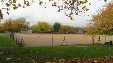 Barnard Park's full-size football pitch. Picture: David Holt/Flickr/CC BY 2.0