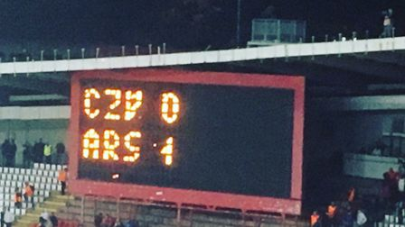 CZV 0-1 ARS Credit @laythy29 Instagram and Twitter