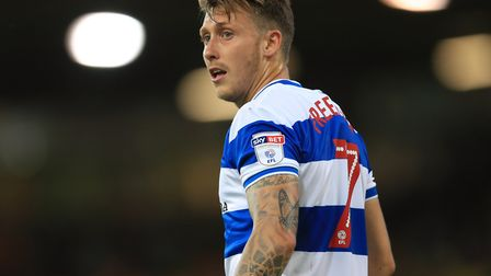 Luke Freeman created chances for Queens Park Rangers in their 2-1 loss to Fulham (pic: Adam Davy/PA)