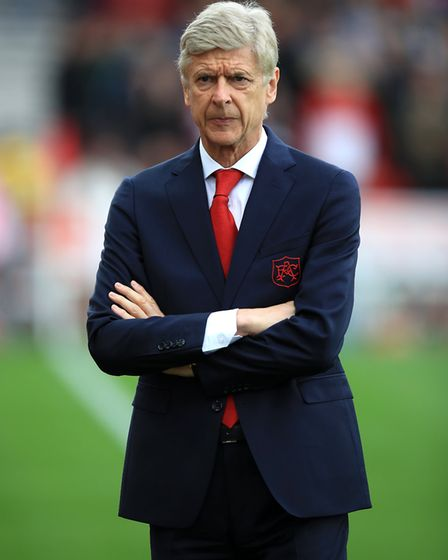Arsenal boss Arsene Wenger said 'A club isn't just about winning it's about values'. Credit: Mike Eg