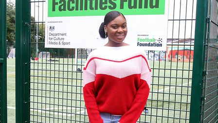 Ange Doua, friend of Nashon, who organised the football match played to raise money for his funeral.