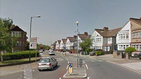 Two men were attacked and threatened at knife point by a pair of suspects posing as policemen during