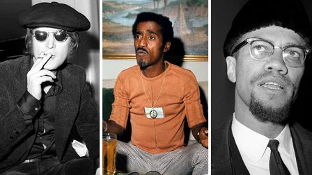 John Lennon, Sammy Davis Jr and Malcolm X were all said to have been befriended by Michael X. Pictur