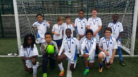 St Mary Magdalene won the Islington Primary Schools' Cup