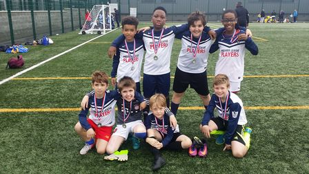 Montem were runners-up at the Islington Primary Schools' Cup