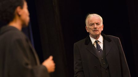 Ian McDiarmid as Enoch Powell in What Shadows at the Park Theatre. Picture: Ellie Kurtzz