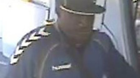Police want to speak to this man over a sexual assault on a bus in Holloway. Picture: Met