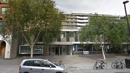 Finsbury Library in St John Street. Picture: Google Street View