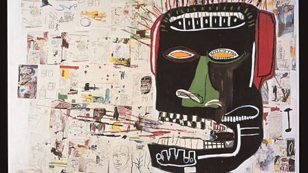 Glenn 1984, Private collection. © The Estate of Jean-Michel Basquiat. Licensed by Artestar, New York