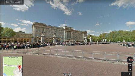 Buckingham Palace Picture: Google Street View