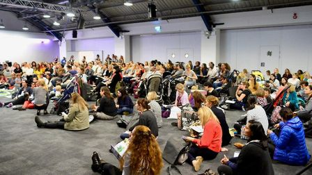 Some 2,000 mums turned up to the conference at the Business Design Centre.