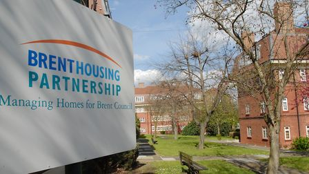 Alexandra Court will soon have Brent Council signage as stock goes back in house (Brent Council)