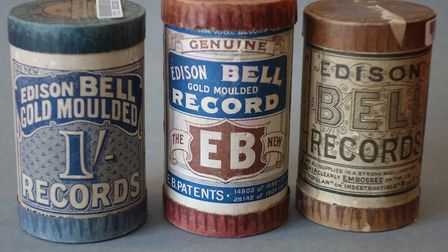 Wax Cylinders from the British Library collections (c) British Library Board
