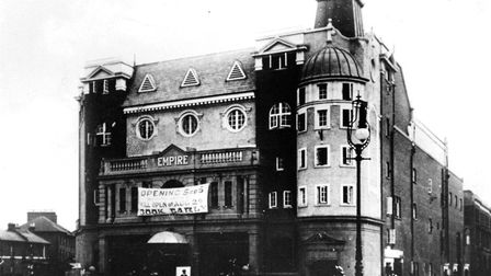 Finsbury Park Empire when it was opened in 1910. Picture: Islington Council