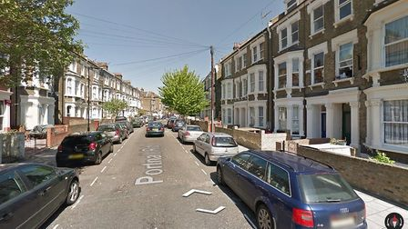 A 24 year old man was found with stab injuries on Portnall Road Picture: Google Street View