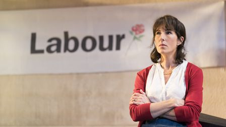 Tamsin Greig in LABOUR OF LOVE at the Noel Coward Theatre. Picture: Johan Persson