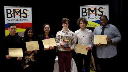 Finalists of the Brent Young Musician of the Year 2016 (Picture: Lee Woodcraft Photography)
