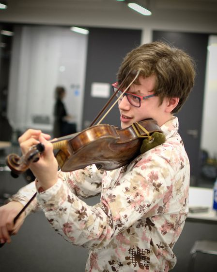 Ilai Avni, winner of the Brent Young Musician of the Year 2016 (Picture: Lee Woodcraft Photography)