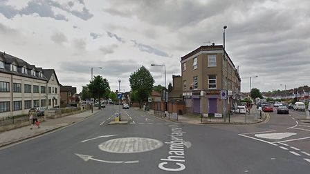 The area of Chamberlayne Road and All Souls Avenue could be getting a new speed limit Picture: Googl