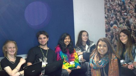Hampstead and Kilburn MP Tulip Siddiq visited the creative music college Access to Music to speak wi